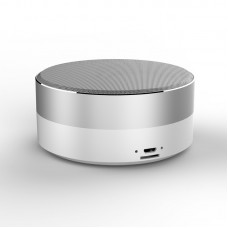 HAVIT M13 BLUETOOTH SPEAKER WITH SD CARD SLOT & AUX (WHITE AND SILVER)
