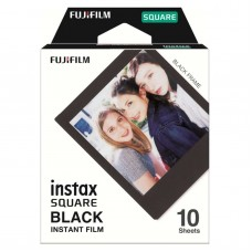 FUJIFILM INSTAX SQUARE FILM BLACK 10's