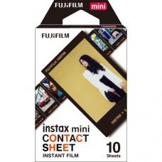 FUJIFILM INSTAX MINI CONTACT SHEET 10S
