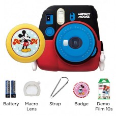 FUJIFILM INSTAX MINI 9 MICKEY MOUSE PACKAGE COBALT BLUE