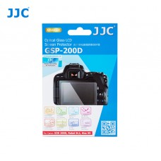 JJC GLASS SCREEN PROTECTOR FOR  CANON EOS 200D, REBEL SL2, KISS X9