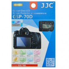 JJC GLASS SCREEN PROTECTOR FOR  CANON EOS 70D/80D (W/ 2X PET Sub-Screen Protector)