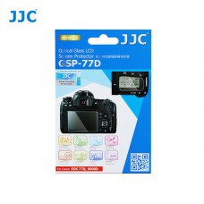 JJC GLASS SCREEN PROTECTOR FOR  CANON EOS 77D, 9000D (w/ 2x PET Sub-Screen Protector)