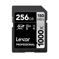 LEXAR 256GB PROFESSIONAL 1000X SDXC UHS-II 150/90 MB/S