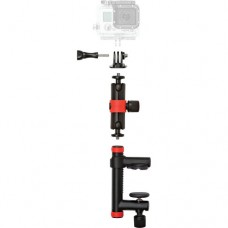 Joby Action Clamp & Locking Arm (Black/Red)