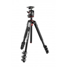 Manfrotto 190 Aluminum Tripod Kit with 4S Ball Head