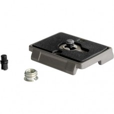 "Manfrotto 200PL Quick Release Plate with 1/4""-20 Screw and 3/8"" Bushing Adapter"