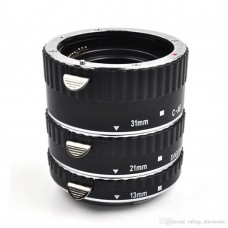 Meike 3-piece Macro Extension Tube Set for Canon MK-C-AF1-A