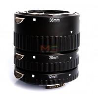 Meike 3-piece Macro Extension Tube Set for Nikon MK-N-AF-A
