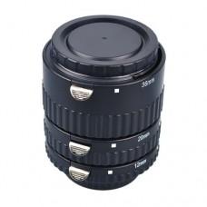 Meike 3-piece Macro Extension Tube Set for Nikon MK-N-AF1-B Plastic