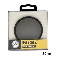 NISI 39MM SLIM CIRCULAR POLARIZER CPL FILTER