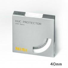 NISI 40mm Pro Nano HUC Protector Circular Lens Glass Filter