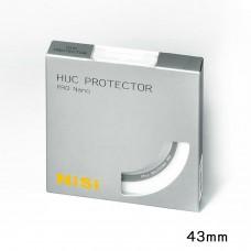 NISI 43MM PRO NANO HUC PROTECTOR CIRCULAR LENS GLASS FILTER