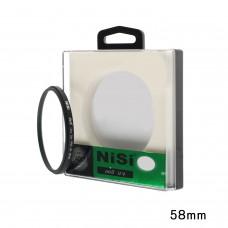 NISI 58MM UV ROUND CAMERA FILTER