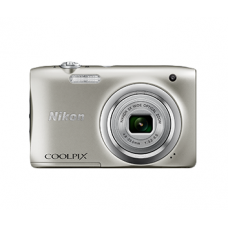 NIKON COOLPIX A100 (Silver) [with FREE 8GB MEMORY CARD]