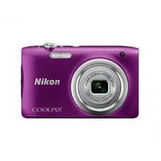 NIKON COOLPIX A100 (Purple) [with FREE 8GB MEMORY CARD]