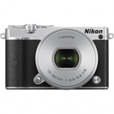 Nikon 1 J5 Body (w/ 10-30mm) Mirrorless SILVER [ONLINE PRICE] [FREE MEMORY CARD, CAMERA BAG, PHILIPS E311]