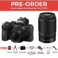 NIKON Z50 MIRRORLESS WITH 16-50MM AND 50-250MM [PRE-ORDER]