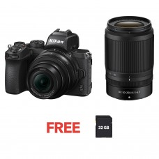 NIKON Z50 MIRRORLESS WITH 16-50MM AND 50-250MM
