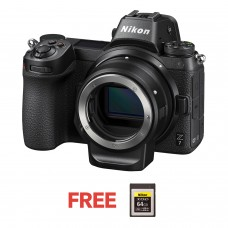 NIKON Z7 WITH FTZ (F to Z mount adapter) THDH
