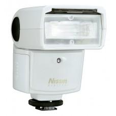 NISSIN SPEEDLIGHT DI466 FOR MICRO 4/3 WHITE
