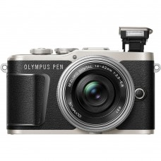 OLYMPUS E-PL9 BODY (W/ 14-42MM) BLACK [ONLINE EXCLUSIVE]