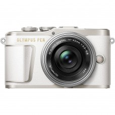 OLYMPUS E-PL9 BODY (W/ 14-42MM) WHITE [ONLINE EXCLUSIVE]