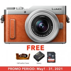 PANASONIC LUMIX GF10KGA DSLM W/ 12-32mm ORANGE