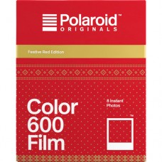 POLAROID US-COLOR FOR 600-FILM FESTIVE RED