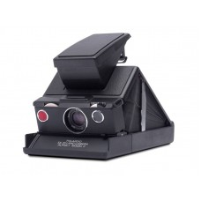 POLAROID SX-70 ALPHA CAMERA (BLACK/BLACK)