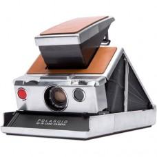Polaroid SX-70 Original Camera in Chrome/Brown