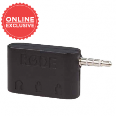 RODE DUAL TRRS INPUT AND HEADPHONE OUTPUT FOR SMARTPHONES