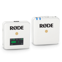 RODE WIRELESS GO COMPACT WIRELESS MICROPHONE SYSTEM WHITE