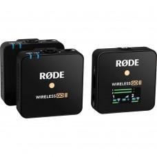 RODE WIRELESS GO II DUAL WIRELESS MIC SYSTEM (S)