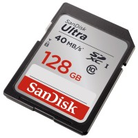 SANDISK ULTRA® 128GB Class 10 40mb/s.266x (S)
