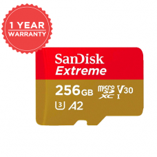 SANDISK EXTREME 256GB 160MB/S MICRO SD SDSQXA1-256G