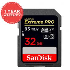 SANDISK 32GB EXTREME PROSDHC™ UHS-I 95MB/S MEMORY CARD (S)