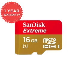 SANDISK EXTREME 16GB MICRO SD 80MB/S 533X SDSDQX-016G