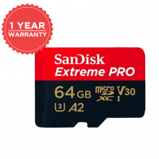 SANDISK EXTREME PRO 64GB MICRO SD 170/90 MB/S SDSQXCY-064G