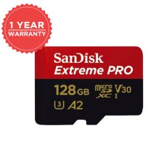 SANDISK EXTREME PRO 128GB MICRO SD 170MB/S 90MB/S SDSQXCY-128G