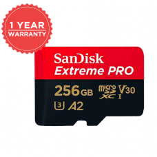 SANDISK EXTREME PRO 256GB MICRO SD 170MB/S 90MB/S SDSQXCZ-256G
