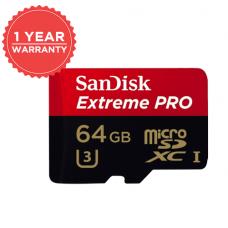 SANDISK EXTREME PRO MICROSDXC UHS-1 64GB 95MB/S 633X (S)