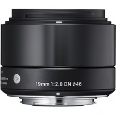 SIGMA 19MM F/2.8 DN BLACK FOR SONY E-MOUNT