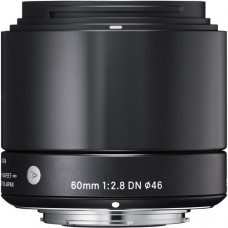 SIGMA 60MM F/2.8 DN BLACK FOR SONY E-MOUNT [ONLINE PRICE]