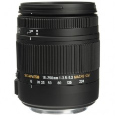 SIGMA 18-250MM F3.5-6.3 DC OS MACRO HSM FOR CANON