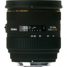 SIGMA AF LENS 24-70MM F/2.8 IF EX DG HSM FOR CANON