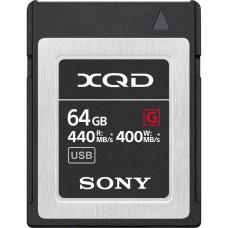SONY QD-64F 64GB G SERIES XQD MEMORY CARD (S)