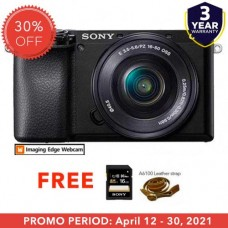 SONY ALPHA a6100 WITH 16-50MM KIT BLACK