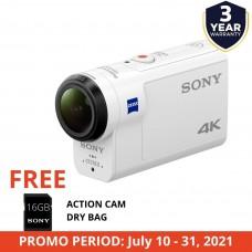 SONY HANDYCAM FDR-X3000R 4K ACTION CAM W/ WIFI & GPS