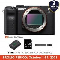 SONY ILCE-7C (BODY) COMPACT FULL-FRAME CAMERA (SONY PHIL)